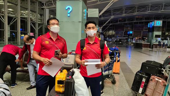 Đoàn thể thao Việt Nam lên đường đến Olympic Tokyo 2020 - Ảnh 1.