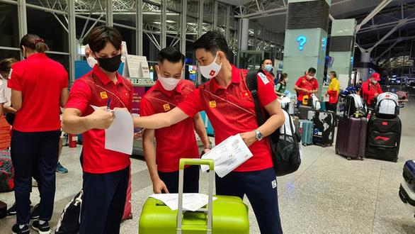 Đoàn thể thao Việt Nam lên đường đến Olympic Tokyo 2020 - Ảnh 2.