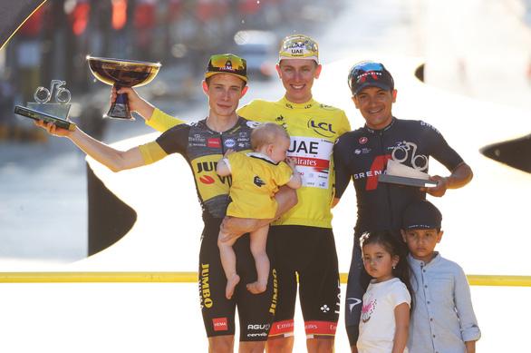 Tadej Pogacar đăng quang Tour de France 2021 - Ảnh 1.