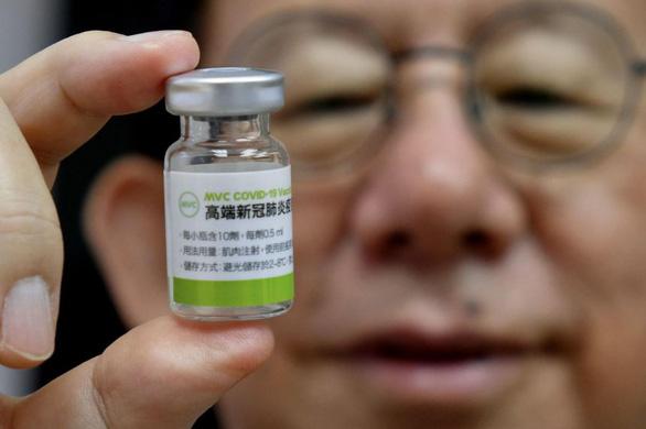 Đài Loan cấp phép sử dụng khẩn cấp cho ứng viên vắc xin của Medigen - Ảnh 1.