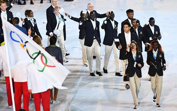 Hai đoàn thể thao đặc biệt ở Olympic Tokyo - Ảnh 1.