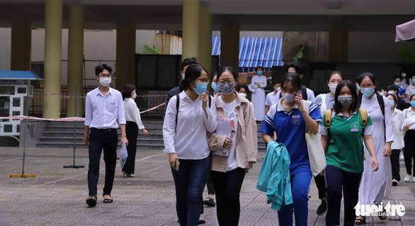 Hoàn tất chấm thi tốt nghiệp THPT tại Đà Nẵng - Ảnh 1.