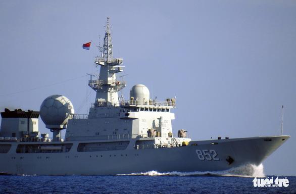 Trung Quốc điều thêm tàu đi do thám Úc, Mỹ và đồng minh tập trận - Ảnh 1.
