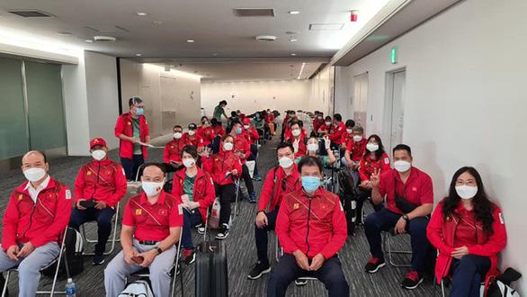 Đoàn thể thao Việt Nam âm tính với COVID-19, đã được nhập làng vận động viên tại Olympic Tokyo - Ảnh 2.