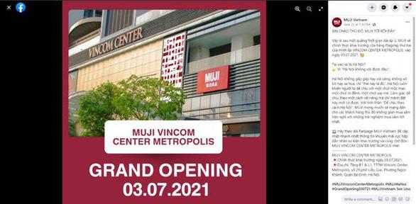 MUJI khai trương cửa hàng flagship đầu tiên tại Hà Nội vào 3-7 - Ảnh 2.