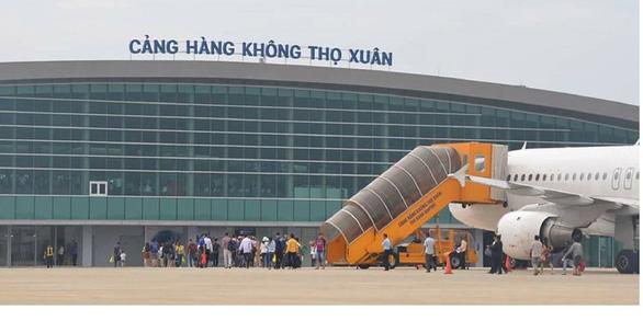 Thanh Hóa đề nghị dừng tất cả chuyến bay chở khách đi và đến sân bay Thọ Xuân - Ảnh 1.