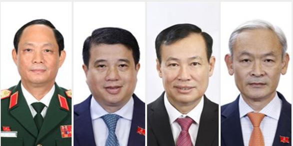 Ủy ban Thường vụ Quốc hội khóa XV có 4 nhân sự mới - Ảnh 2.