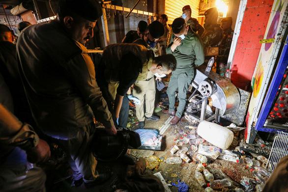 IS tổ chức tấn công liều chết ở Iraq, 35 người chết, hơn 60 người bị thương - Ảnh 1.