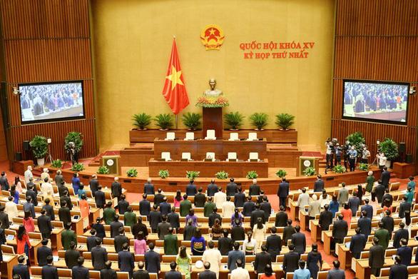 Ủy ban Thường vụ Quốc hội khóa XV có 4 nhân sự mới - Ảnh 1.