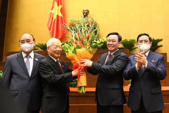 Đề cử ông Vương Đình Huệ tái cử Chủ tịch Quốc hội khóa XV - Ảnh 1.