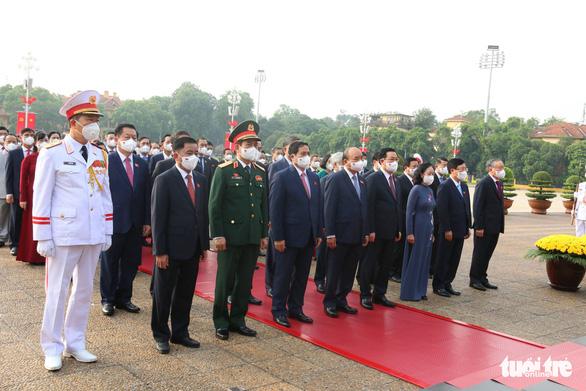 Quốc hội khóa XV khai mạc kỳ họp đầu tiên, chiều nay Chủ tịch Quốc hội tuyên thệ nhậm chức - Ảnh 3.
