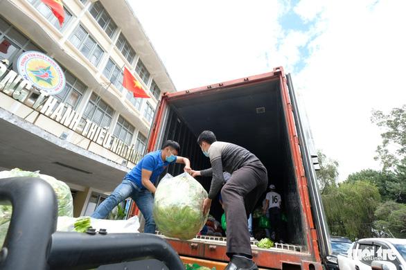 Thanh niên Lâm Đồng gửi 115 tấn rau đến vùng dịch - Ảnh 2.