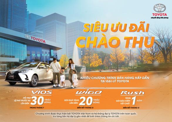 Toyota Rush 2021 nâng cấp hệ thống giải trí, tặng bảo hiểm Vàng - Ảnh 2.