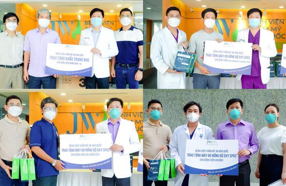 Bệnh viện JW tiếp sức chống dịch với hàng trăm thiết bị y tế - Ảnh 6.