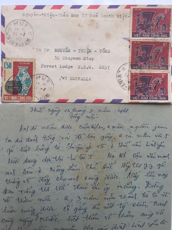 Cuộc hội ngộ của lá thư lạc nửa thế kỷ - Ảnh 4.