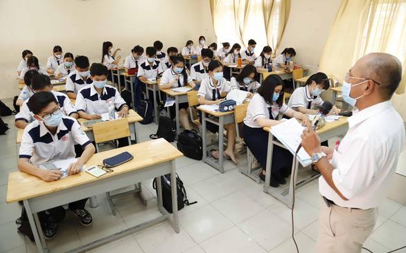 Sở GD-ĐT TP.HCM đề xuất xét đặc cách tốt nghiệp THPT cho thí sinh thi đợt 2 - Ảnh 1.
