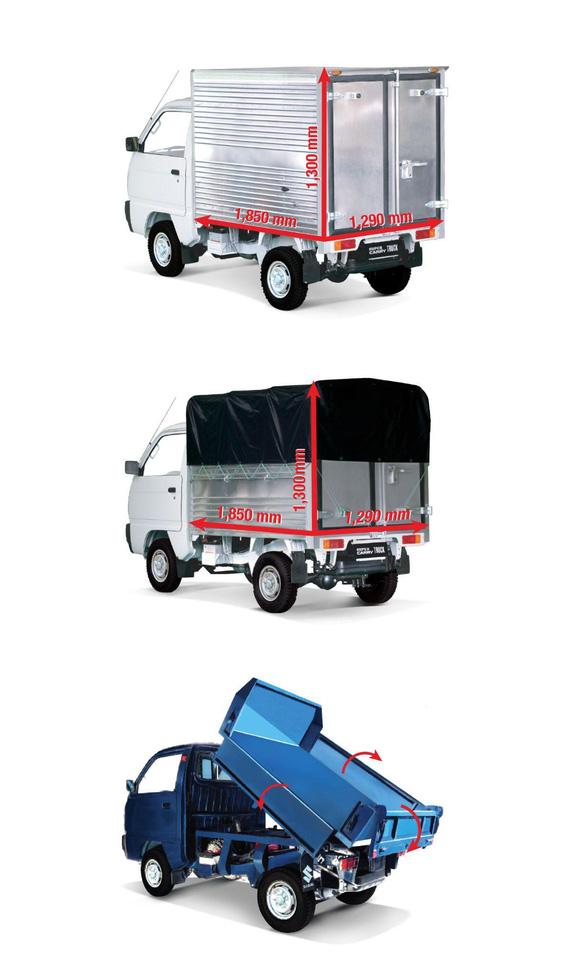 Chọn Suzuki Carry Truck  để tránh phiền hà từ xe tải nhẹ sao chép - Ảnh 5.