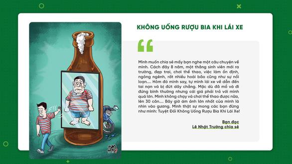 Không uống rượu bia khi lái xe được bình chọn nhiều nhất 10 thói quen văn minh giao thông - Ảnh 2.