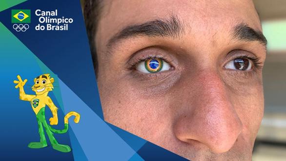 Vận động viên đặc biệt nhất ở Olympic Tokyo với 1 mắt giả mang hình quốc kỳ Brazil - Ảnh 1.