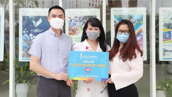 Hai trường học từ Hà Nội, Hưng Yên góp 220 triệu đồng Cùng Tuổi Trẻ chống dịch COVID-19 . - Ảnh 1.