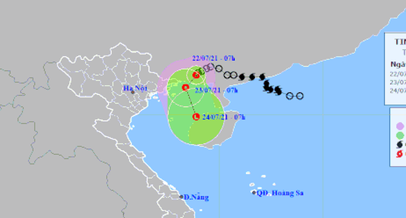 Miền Nam mưa lớn từ sớm, Bắc và Bắc Trung Bộ nhiều nơi nguy cơ ngập úng - Ảnh 1.