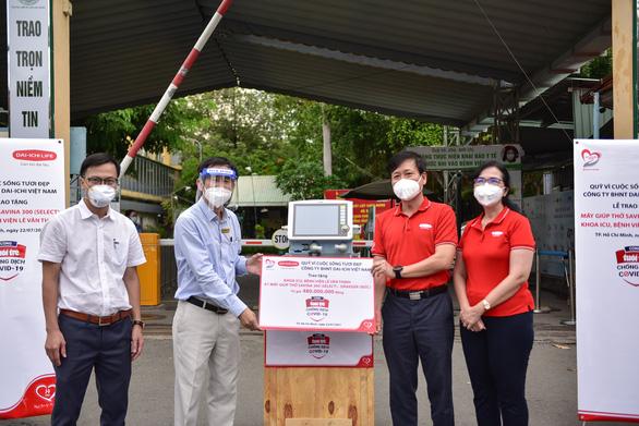 'Cùng Tuổi Trẻ chống dịch COVID-19' trao máy thở đa năng cho Bệnh viện Lê Văn Thịnh - Ảnh 1.