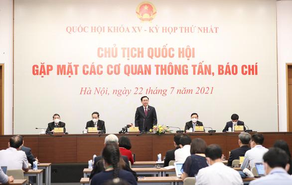 Chủ tịch Quốc hội Vương Đình Huệ: 'Siết chặt kỷ luật, kỷ cương lập pháp' - Ảnh 1.