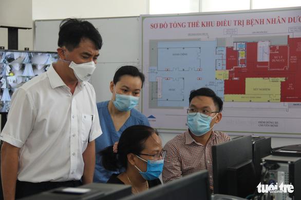 Bệnh viện dã chiến 350 giường ở Đà Nẵng sắp hoạt động, có thể tăng lên 1.700 giường khi cần - Ảnh 1.