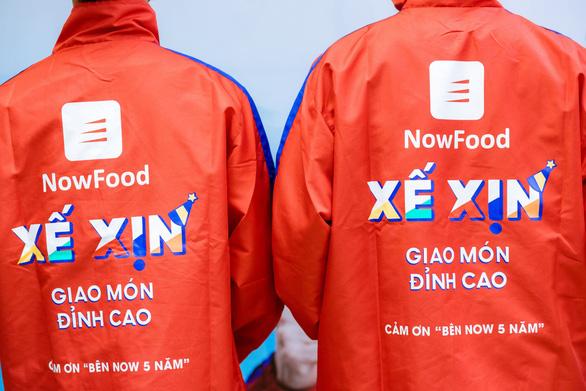 Ứng dụng giao đồ ăn Now kỷ niệm 5 năm có mặt tại Việt Nam - Ảnh 1.