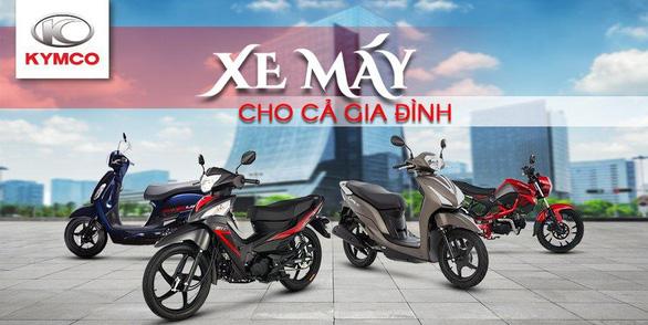 Kymco - hành trình khẳng định ngôi vương xe máy phân khối nhỏ tại Việt Nam - Ảnh 1.