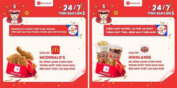 Ứng dụng giao đồ ăn Now kỷ niệm 5 năm có mặt tại Việt Nam - Ảnh 3.