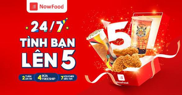 Ứng dụng giao đồ ăn Now kỷ niệm 5 năm có mặt tại Việt Nam - Ảnh 4.