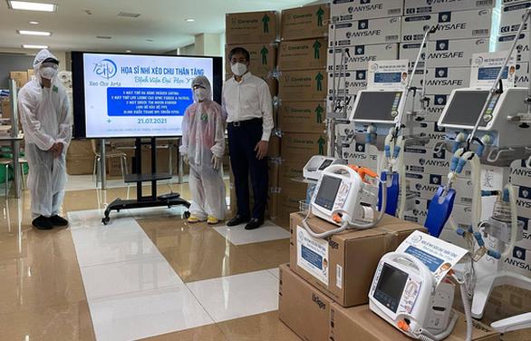 Họa sĩ nhí Xèo Chu góp 2,9 tỉ đồng hỗ trợ chống dịch COVID-19 - Ảnh 1.
