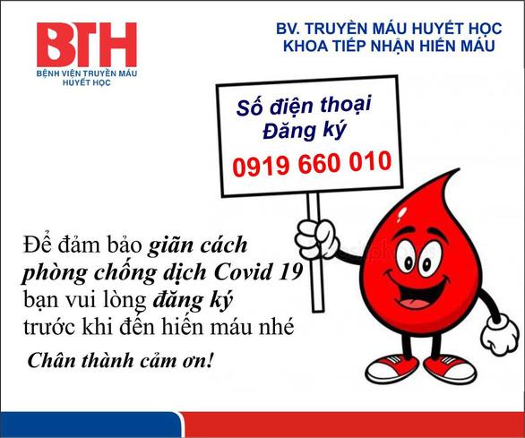 TP.HCM thiếu máu nghiêm trọng, chỉ đạt 1/10 lượng máu cấp cho bệnh viện - Ảnh 2.