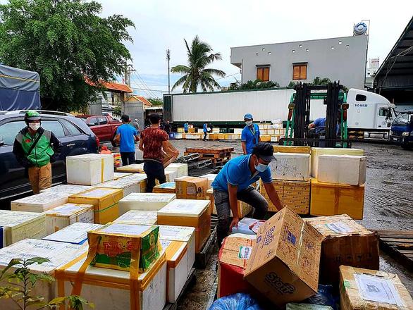 Doanh nghiệp muốn tận dụng chiều rỗng container chở nông sản về TP.HCM - Ảnh 1.