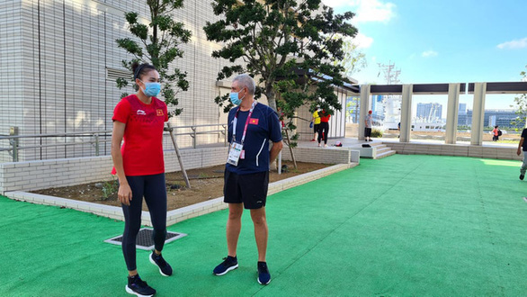 Quách Thị Lan vẫn chưa có chỗ tập luyện tại Olympic Tokyo 2020 - Ảnh 1.