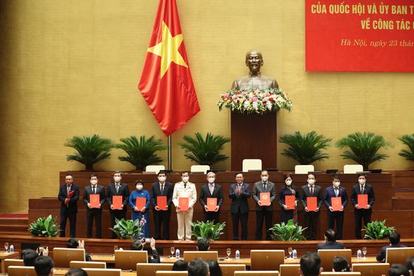 Công bố tổng thư ký, chủ nhiệm, phó chủ nhiệm các ủy ban của Quốc hội khóa XV - Ảnh 1.