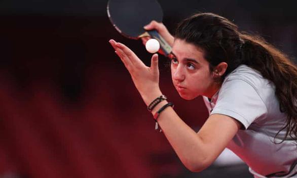Tay vợt 12 tuổi chia tay Olympic Tokyo 2020 sau thất bại trước đối thủ 39 tuổi - Ảnh 1.