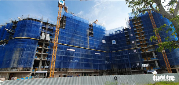 Loạt công trình trong dự án tỉ đô tại Hải Phòng xây dựng khi chưa được cấp phép - Ảnh 2.