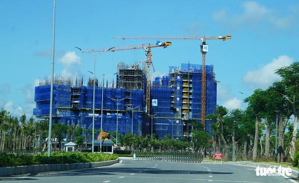 Loạt công trình trong dự án tỉ đô tại Hải Phòng xây dựng khi chưa được cấp phép - Ảnh 1.