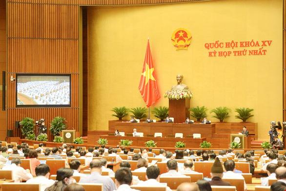 Quốc hội rút ngắn thời gian họp 3 ngày, bế mạc ngày 28-7 - Ảnh 1.