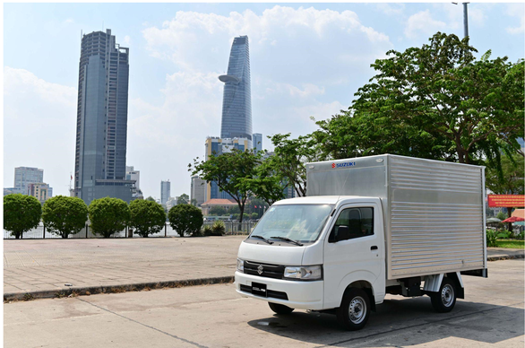 Nhu cầu vận chuyển tăng vọt mùa dịch, Suzuki Carry Pro phát huy thế mạnh - Ảnh 1.