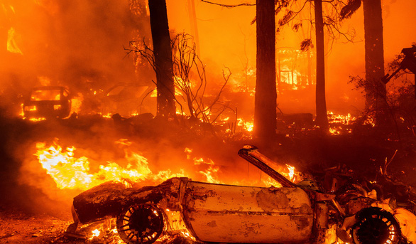 Những hình ảnh cháy rừng thiêu đốt miền tây nước Mỹ - Ảnh 2.