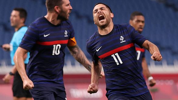 Olympic Pháp ngược dòng ngoạn mục trong trận đấu có 7 bàn thắng - Ảnh 1.