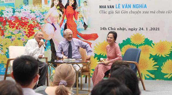 Những kỷ niệm khó quên với nhà báo, nhà văn Lê Văn Nghĩa - Ảnh 1.