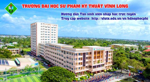 Trường ĐH Sư phạm Kỹ thuật Vĩnh Long  Nhập học và học… tại nhà, điểm sáng an toàn phòng chống dịch - Ảnh 1.