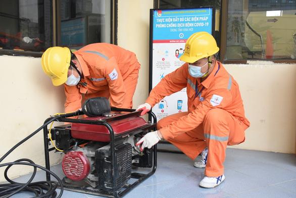 Đảm bảo cung ứng điện cho Hà Nội thực hiện giãn cách xã hội - Ảnh 2.