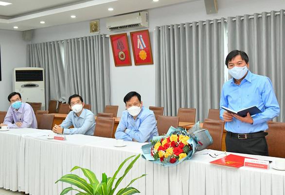 Ông Tăng Hữu Phong làm tổng biên tập báo Sài Gòn Giải Phóng - Ảnh 2.
