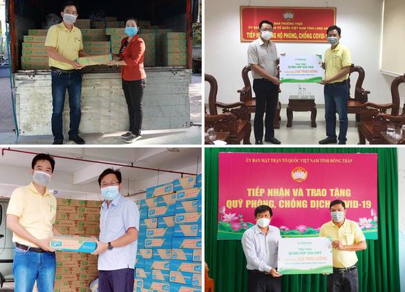 Vinasoy hỗ trợ tuyến đầu và cộng đồng một triệu sản phẩm sữa Fami - Ảnh 2.