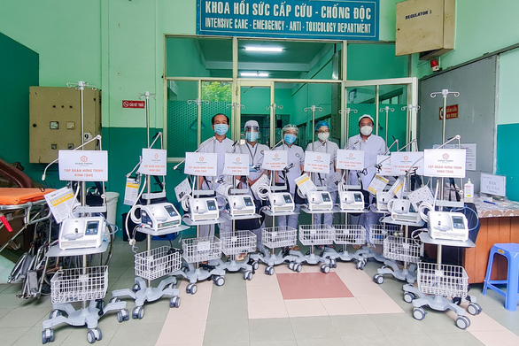 Tập đoàn Hưng Thịnh hỗ trợ khẩn hàng chục tỉ đồng cho TP.HCM chống dịch COVID-19 - Ảnh 2.